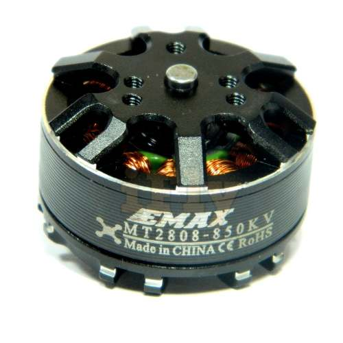 Motor Brushless EMAX MT2808 660 Kv para Multi-rotores CW  - iFly Electric Hobby