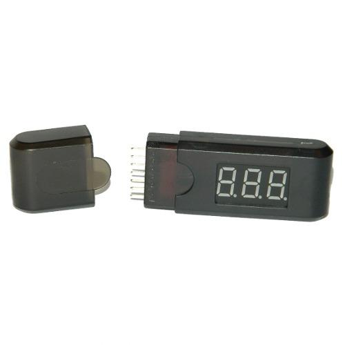 Medidor de Voltgem de Bateira Lipo Digital até 6 Células  - iFly Electric Hobby