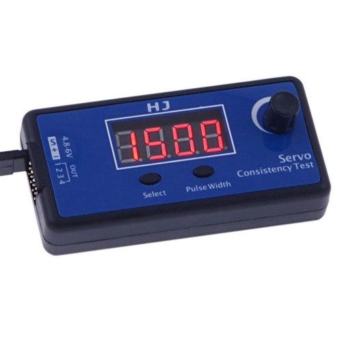 Verificador de Servos Profissional Digital 4 Canais HJ  - iFly Electric Hobby