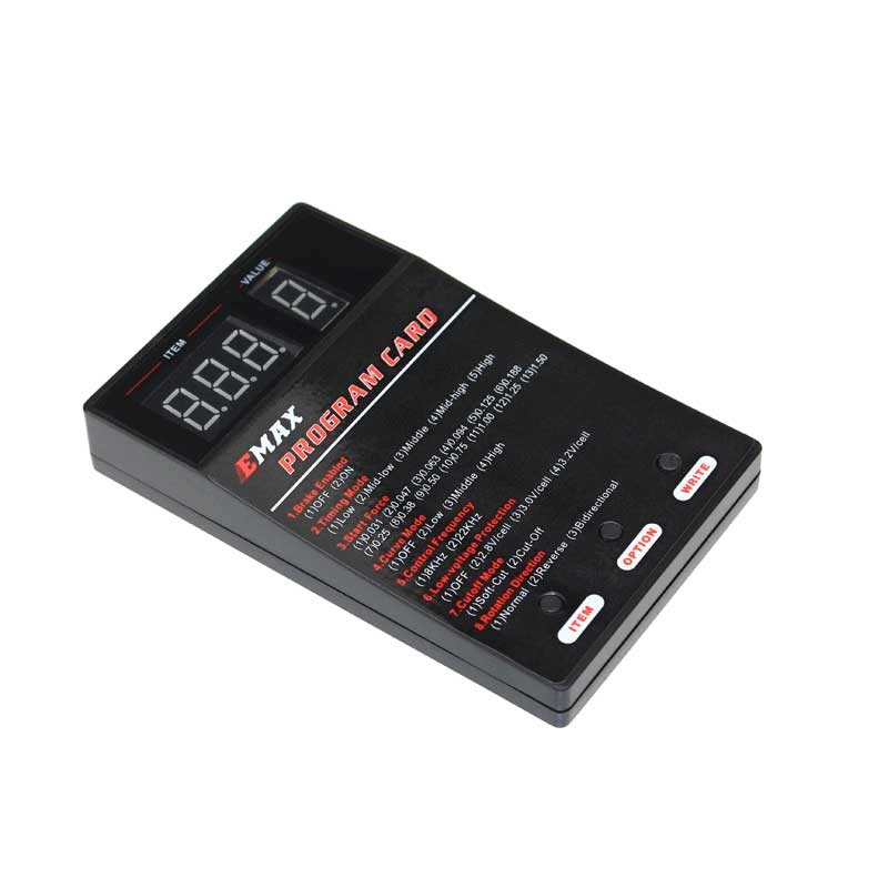 Cartão De Programação Para Esc Emax Simonk  - iFly Electric Hobby
