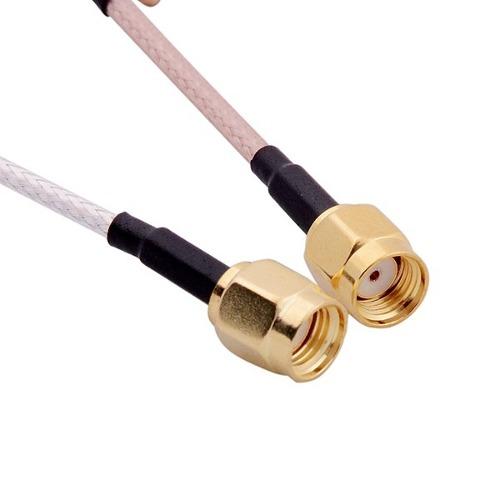 Antena Para FPV 5.8 Ghz Clover SMA Fêmea - Par  - iFly Electric Hobby