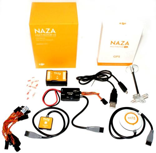 Controladora DJI NAZA M V2 com GPS  - iFly Electric Hobby