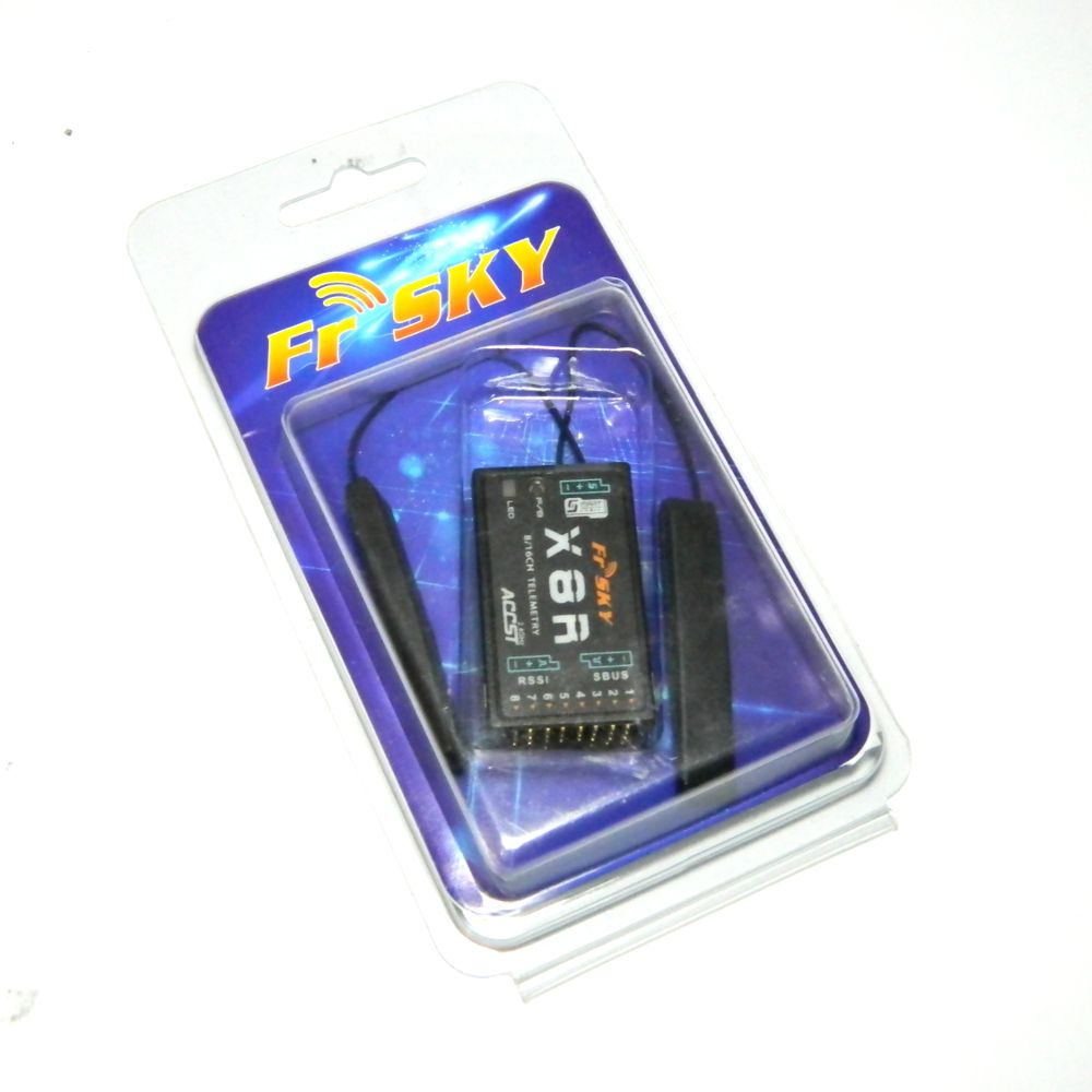 Receptor Fr-Sky X8R 8 Canais 2.4 Ghz SBUS e Telemetria  - iFly Electric Hobby