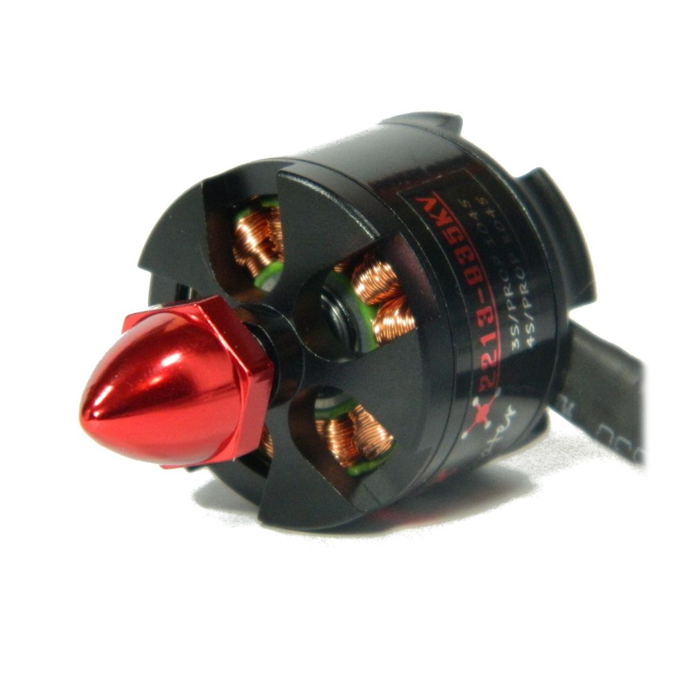 Motor Brushless EMAX MT2213 935 Kv CCW para Multi-Rotores + Hélices  - iFly Electric Hobby