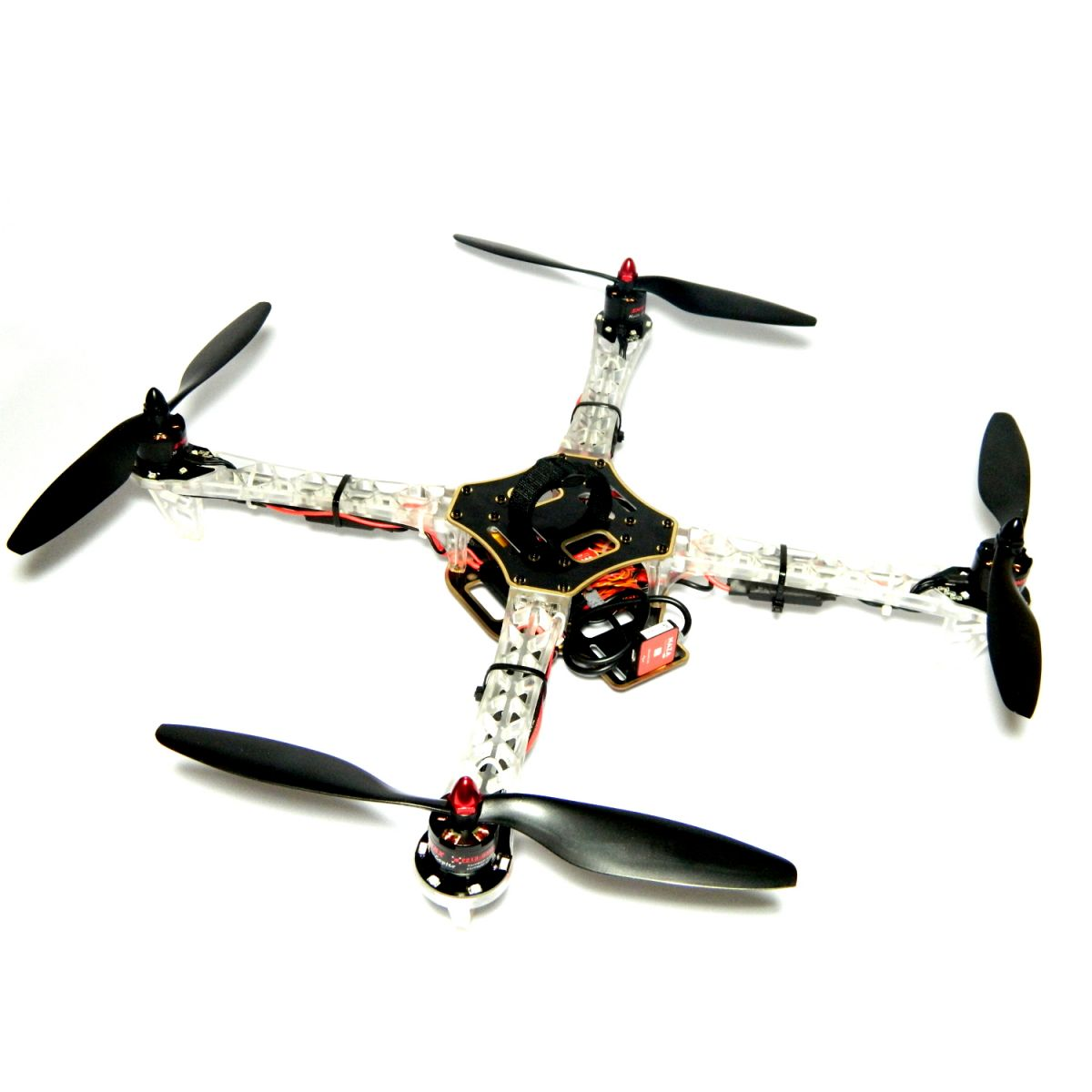 Quadricóptero iFly Q450 Ghost Edition com DJI Naza Lite  - iFly Electric Hobby