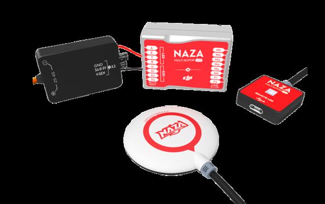 Controladora DJI NAZA M Lite com GPS<BR>  - iFly Electric Hobby