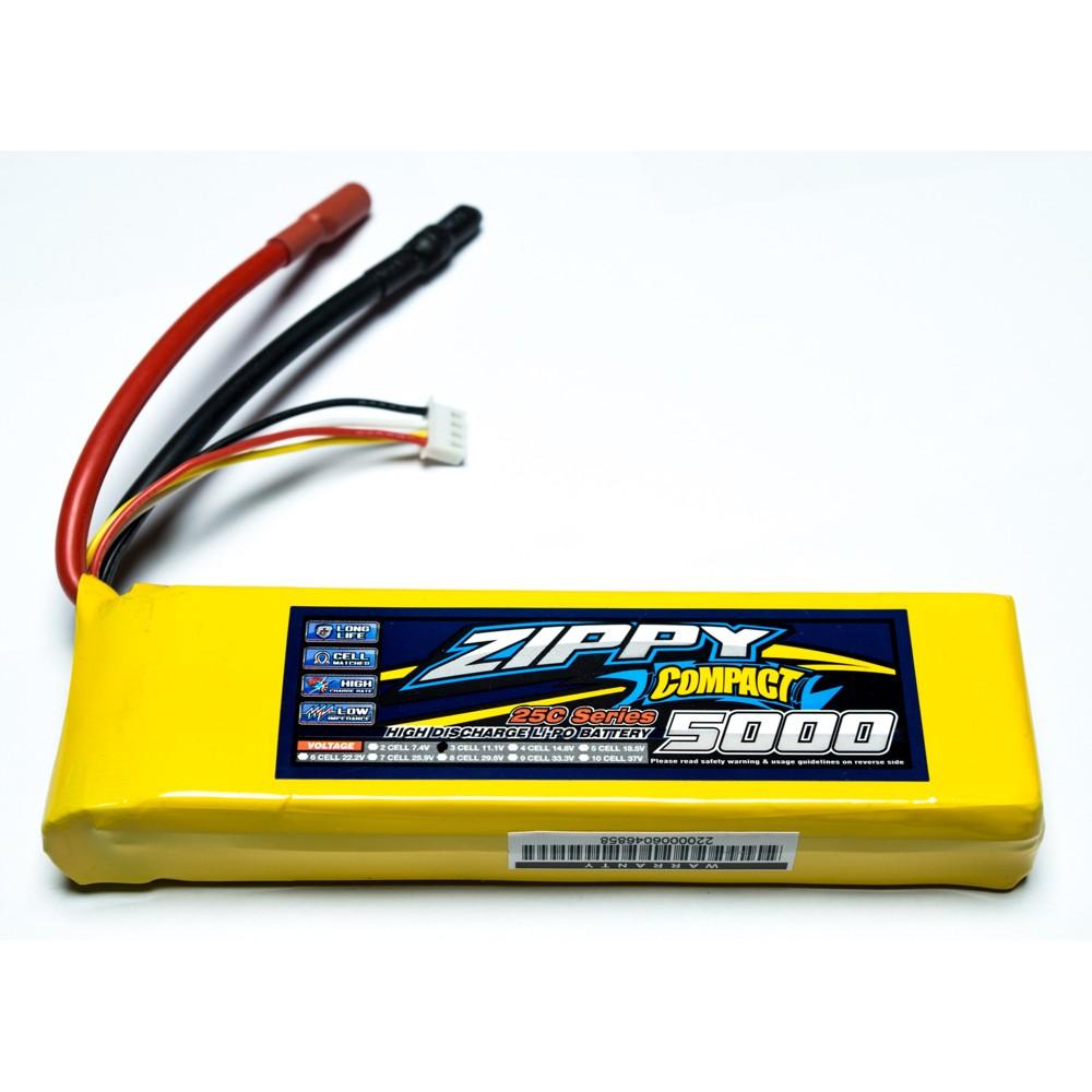 Bateria Lipo Zippy Compact 4S 5000mah 25C  - iFly Electric Hobby