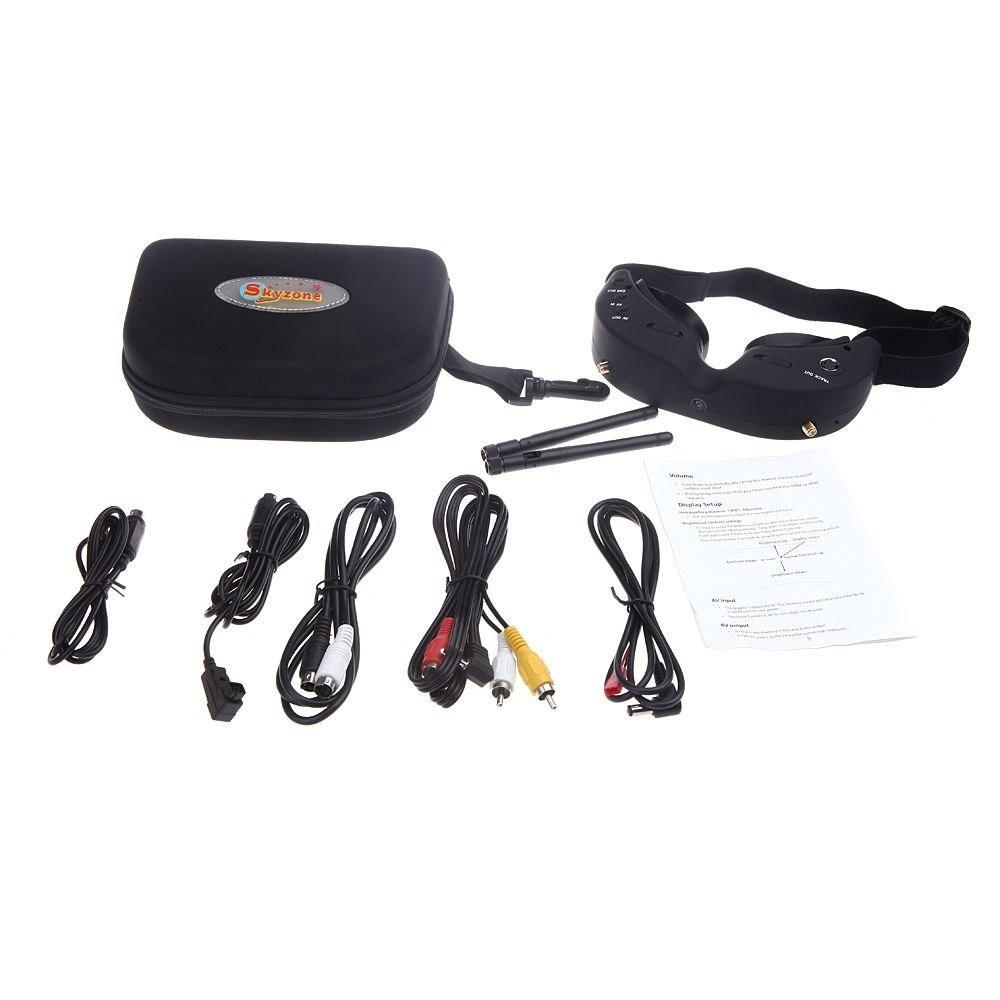 Óculos SkyZone versão 2 para FPV 5.8Ghz 32 Canais  - iFly Electric Hobby