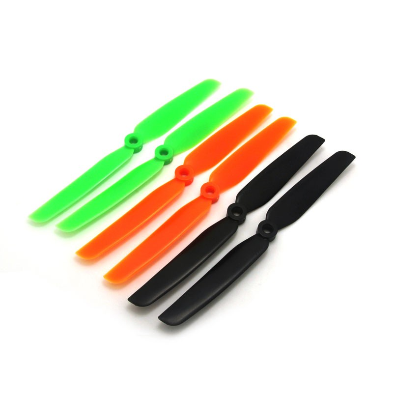 Hélice Emax 6030 Plástica Verde para Multirotores Normal e Reversa  - iFly Electric Hobby