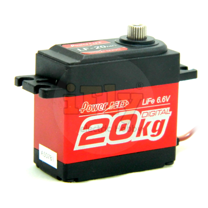 Servo Power HD Digital Standard LF20 MG 20 kg de Torque  - iFly Electric Hobby