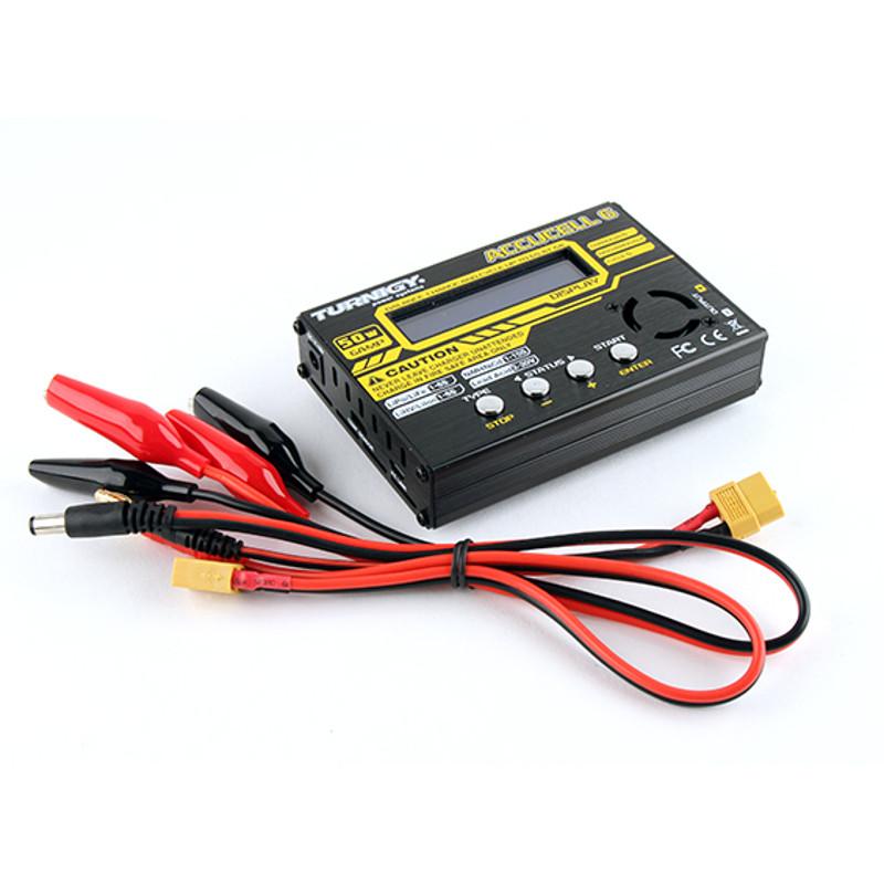 Carregador e Balanceador Turnigy Accucell-6 50W 6A  - iFly Electric Hobby