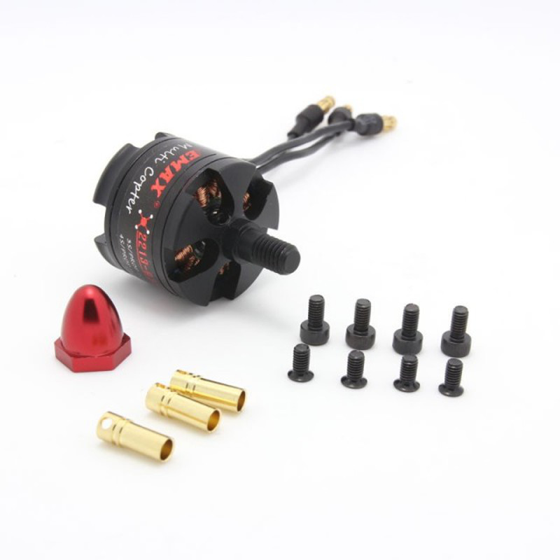 Motor Brushless EMAX MT2213 935 Kv CW para Multi-Rotores  - iFly Electric Hobby