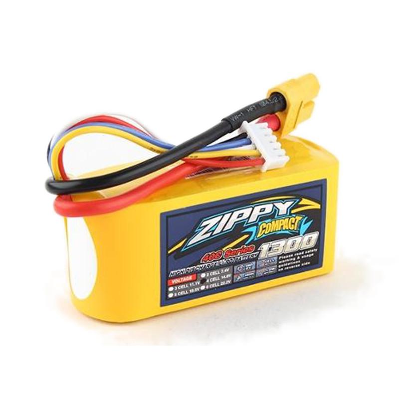 Bateria Lipo Zippy Compact 1300mah 3s  - iFly Electric Hobby