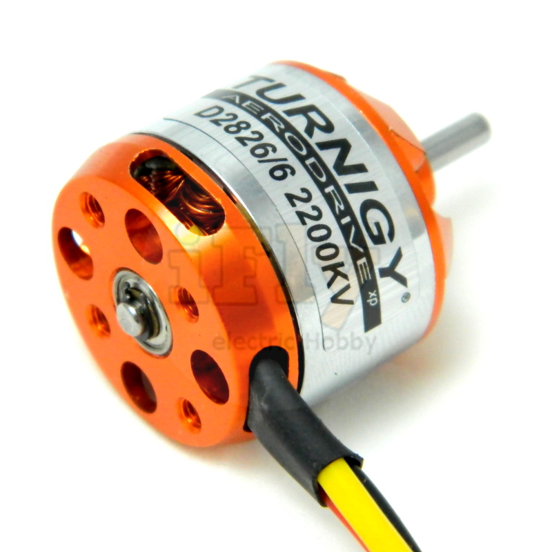 Motor Brushless Turnigy Aerodrive D2826/6 2200Kv  - iFly Electric Hobby