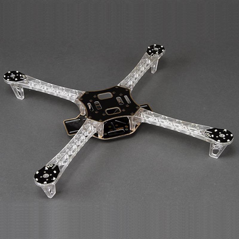 Frame Diatone Q450 Ghost com iluminação para voos noturnos  - iFly Electric Hobby