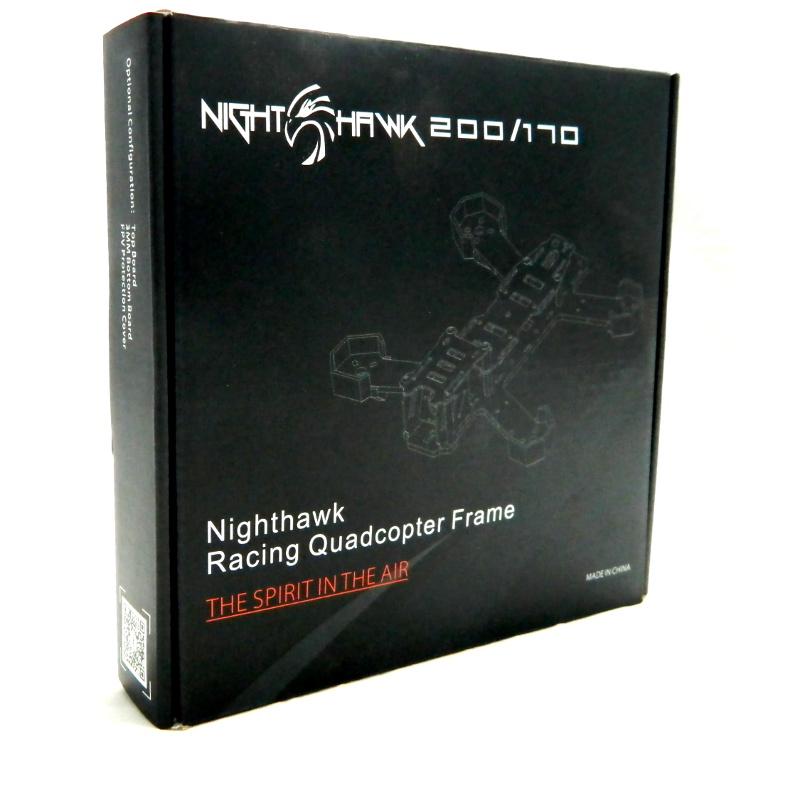 Frame NIghtHawk Pro 200 em Fibra de Carbono 4mm  - iFly Electric Hobby