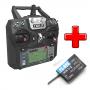 Rádio FlySky FS-I6X 10 Canais com Receptor A8S