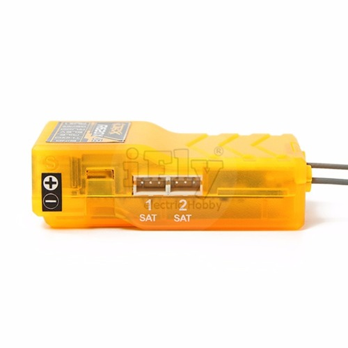 Receptor Orange R620x V2 2.4ghz Dsm2 06 Ch Cppm Full Range  - iFly Electric Hobby