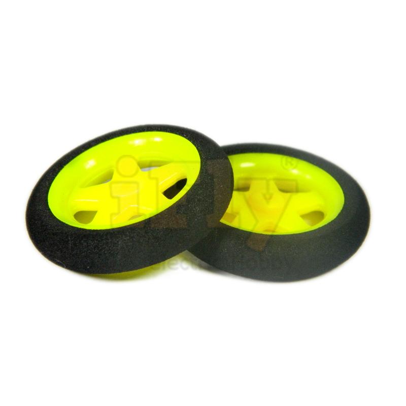 Roda Raiada 36x8x2mm 3g (par)  - iFly Electric Hobby