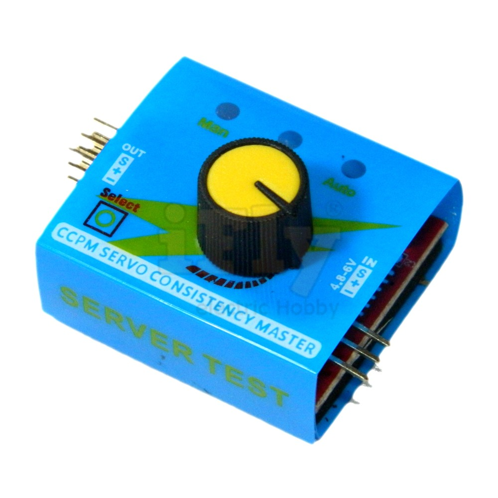 Verificador de Servos 3 Canais  - iFly Electric Hobby