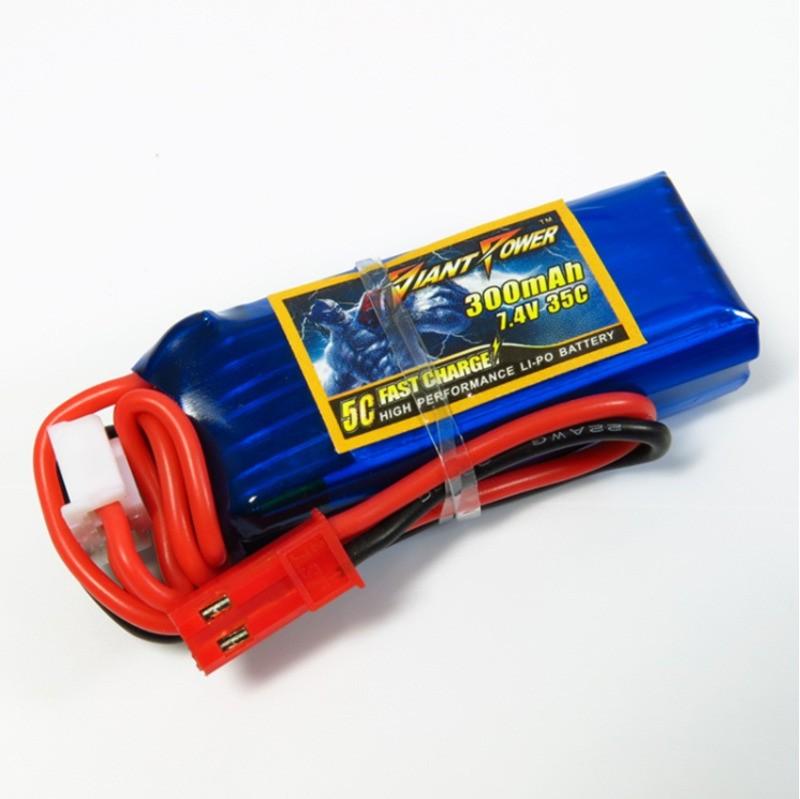 Bateria Lipo Giant 2s 7.4v 300mah 35c 17g  - iFly Electric Hobby