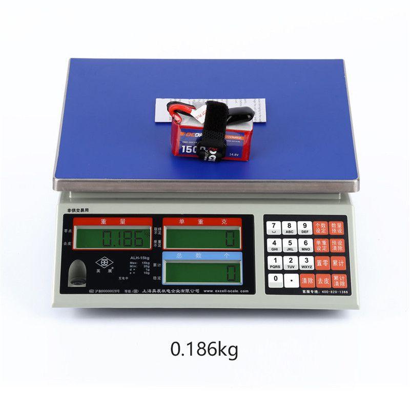 Bateria Lipo OCDAY 4s 14.8v 1500mah 75C XT60  - iFly Electric Hobby