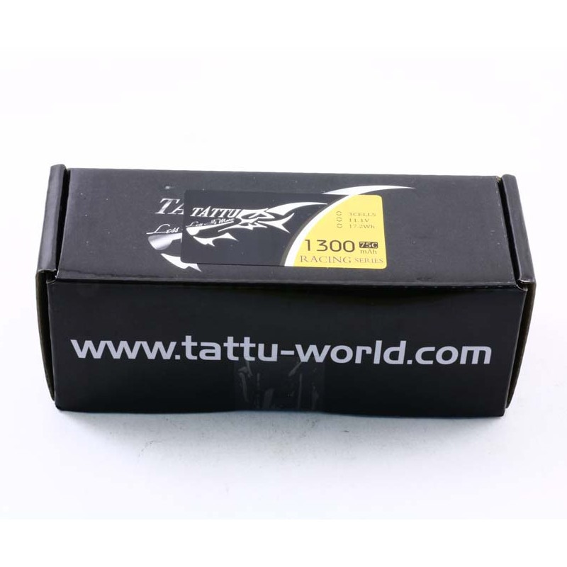 Bateria Lipo Tattu 4s 14.8v 1300mah 75c  - iFly Electric Hobby