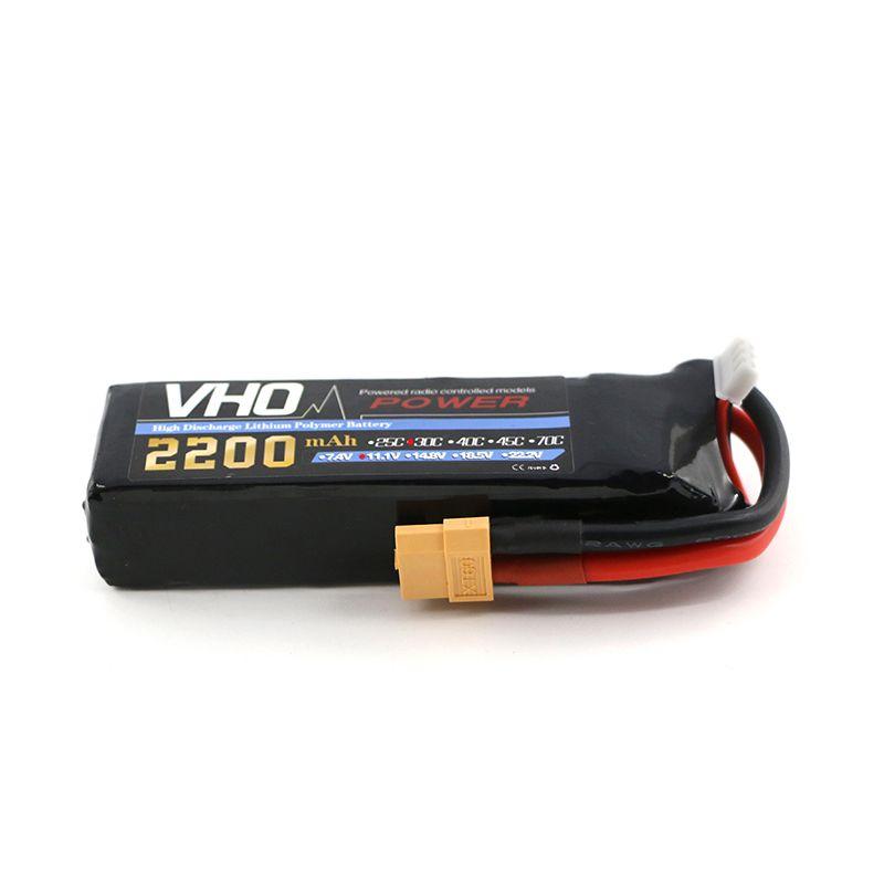 Bateria Lipo VHO 3s 11.1v 2200mah 30c  - iFly Electric Hobby