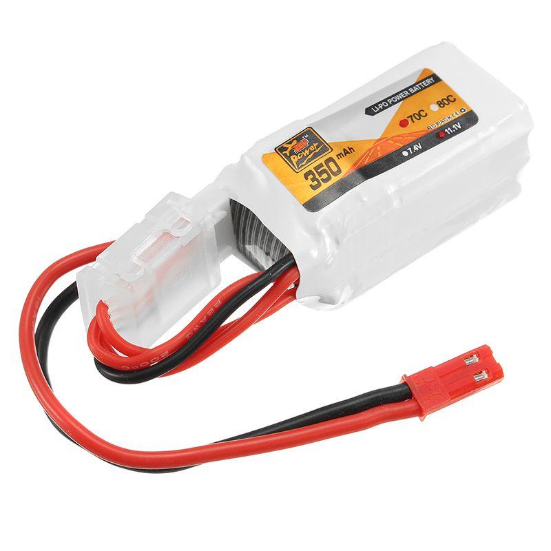 Bateria Lipo Zop 2s 7.4v 350mah 70c 23 g  - iFly Electric Hobby