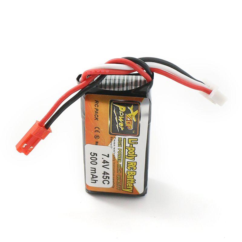 Bateria Lipo Zop 2s 7.4v 500mah 45c 30g  - iFly Electric Hobby