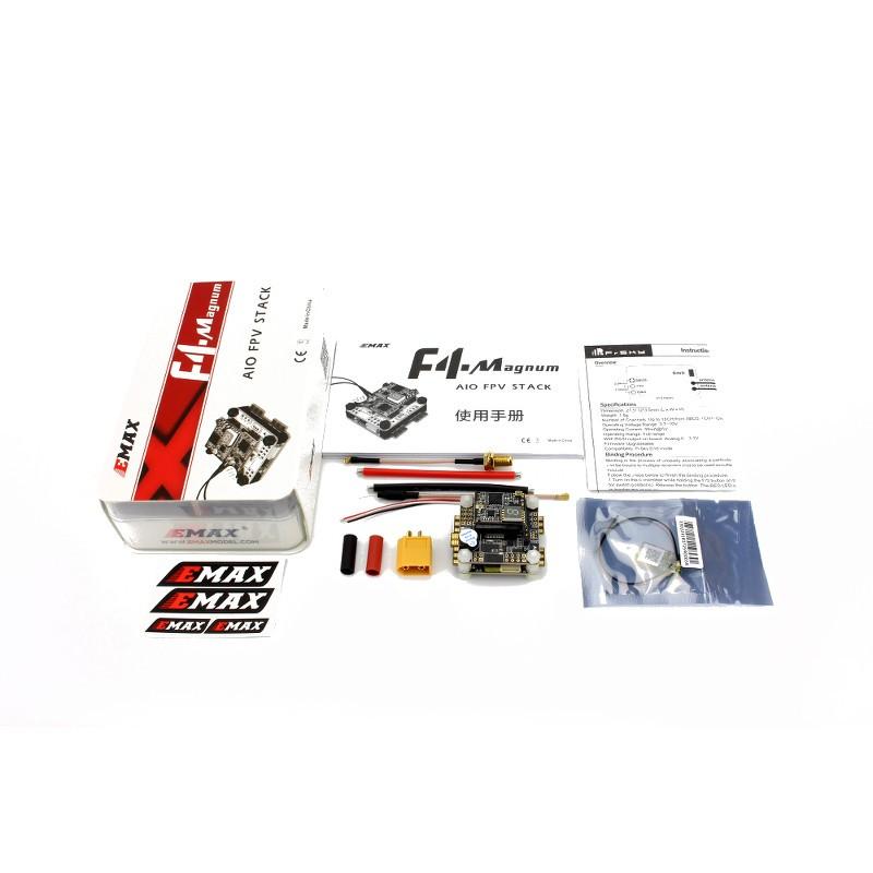 Controladora F4 Magnum EMAX Completa com ESC + OSD + VTX + RECEPTOR  - iFly Electric Hobby