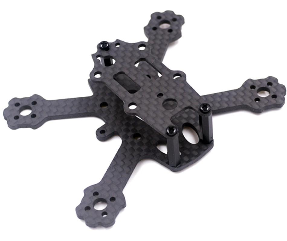 Frame Micro Drone Racer X2 ELF 88mm Fibra de Carbono  - iFly Electric Hobby