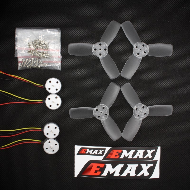 Kit Brushless EMAX RS 1104 5250 KV para micro drone 80 a 90mm  - iFly Electric Hobby