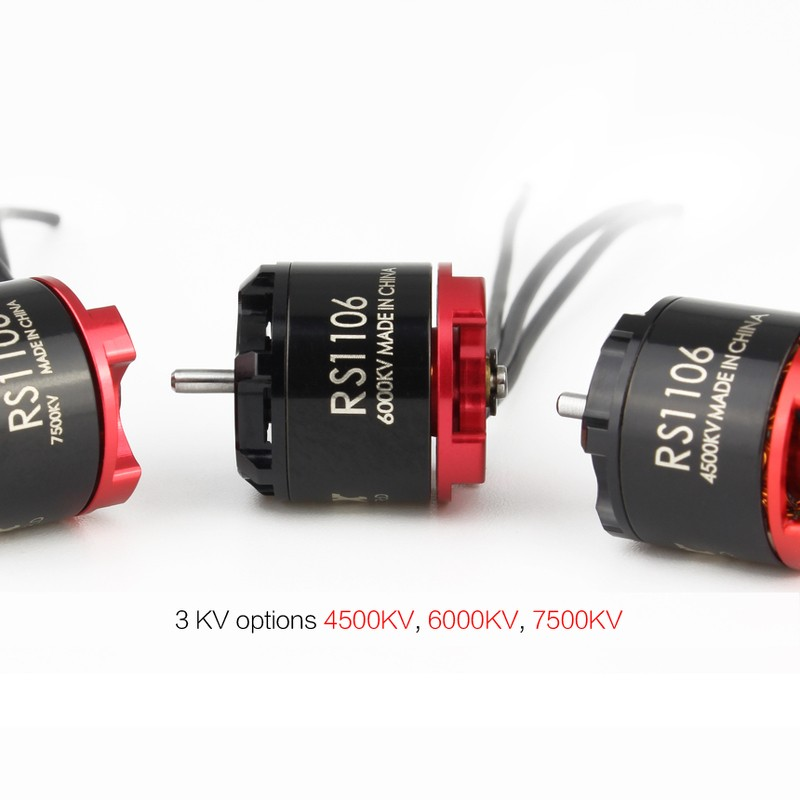 Motor Brushless Emax RS1106 - 4500 Kv 191g de Empuxo  - iFly Electric Hobby