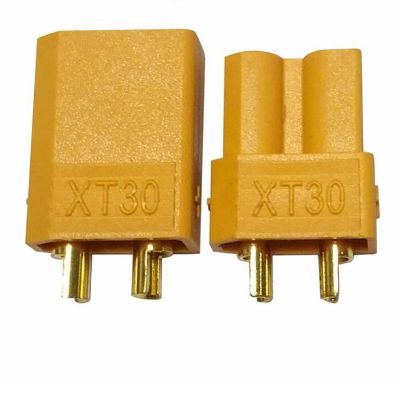 Plug Conector XT30 Macho + Fêmea  - iFly Electric Hobby