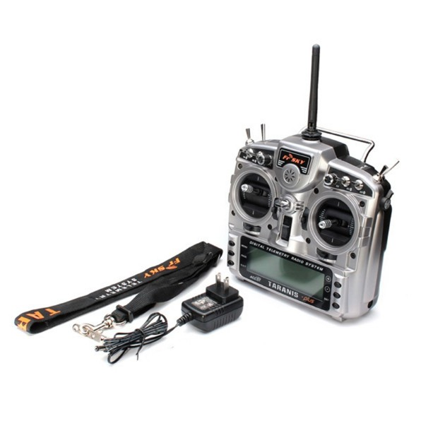 Radio Fr-Sky Taranis X9D Plus com Receptor X8R  - iFly Electric Hobby
