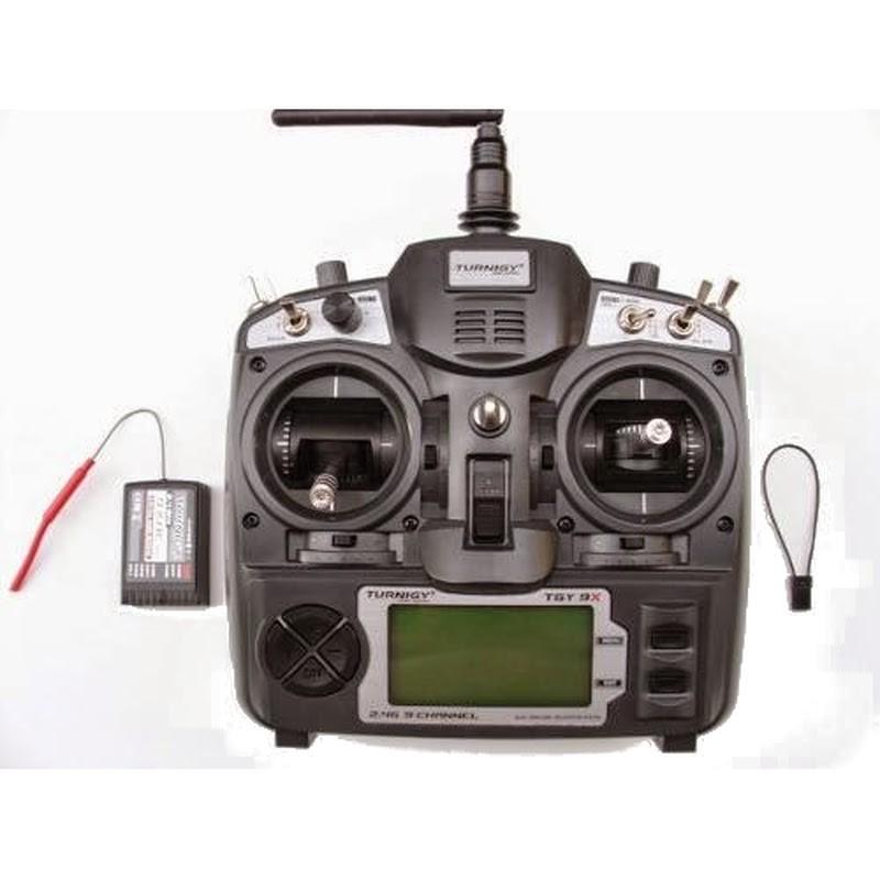 Rádio Turnigy 9X com Receptor  - iFly Electric Hobby