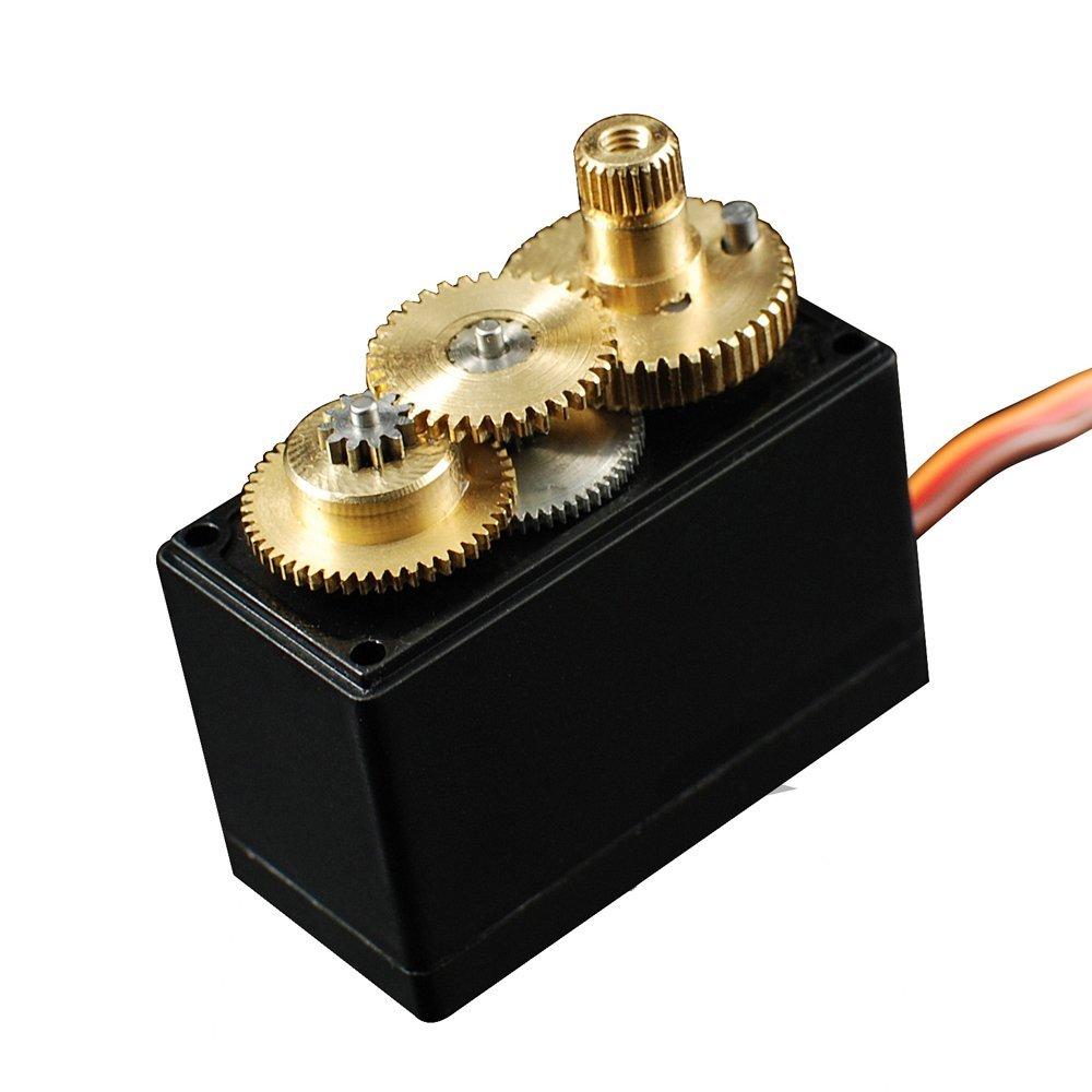 Servo para Robótica AR1202MG Metal 360º de curso Power HD 12Kg de Torque  - iFly Electric Hobby