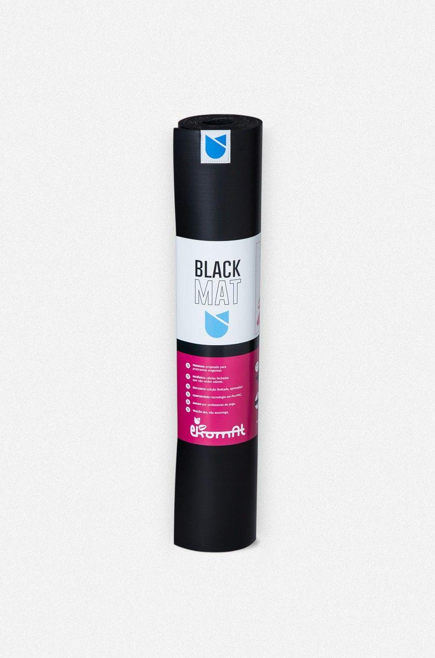 Tapete de Yoga Black Mat Pro 0,004 x 0,65 x 1,73 m