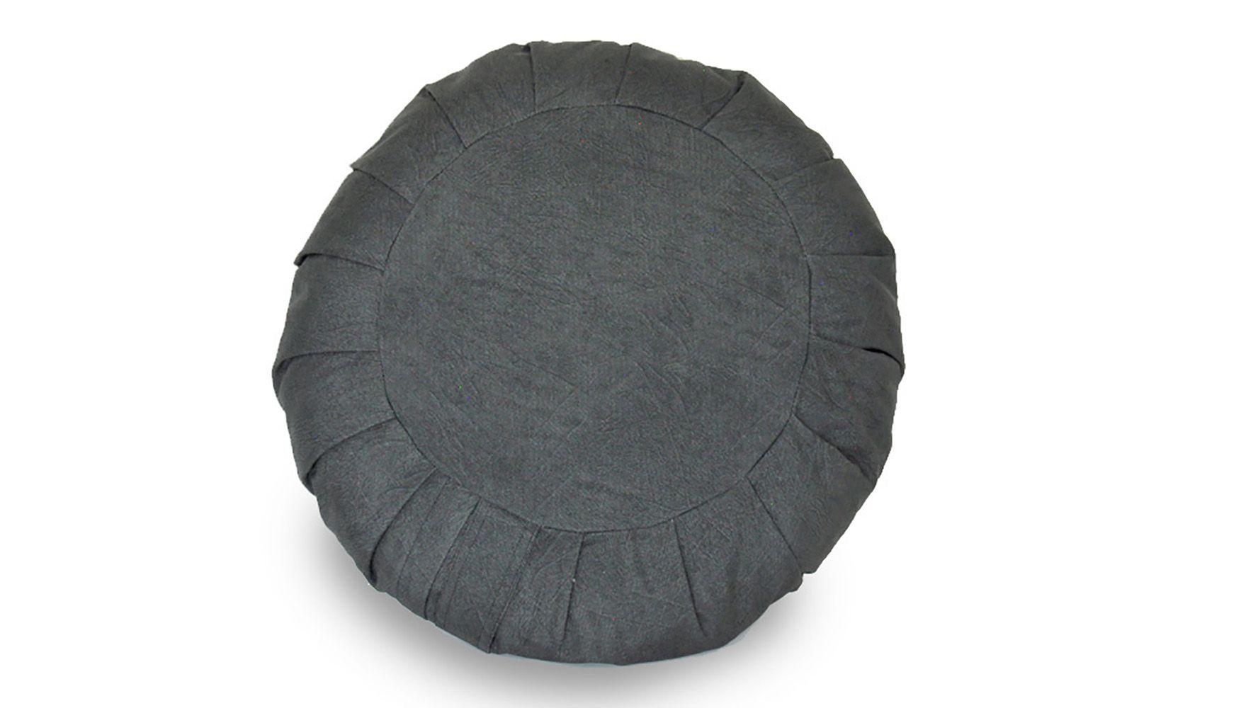 Zafu Nature Almofada de Meditação  Revestida em Tecido Hidrorrepelente G  Ø38 cm 15cm altura