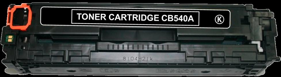 Toner Compatível HP 125A – CB540A Preto  - Leste Cartuchos