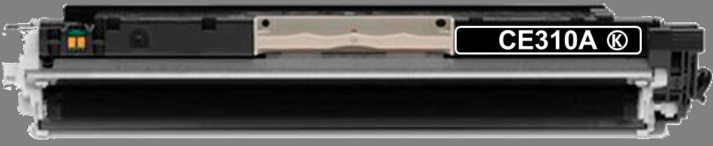 Toner Compatível HP 126A – CE310A Preto  - Leste Cartuchos