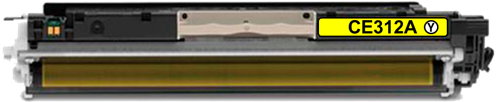Toner Compatível HP 126A – CE312A Amarelo  - Leste Cartuchos