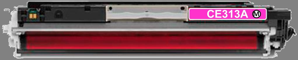 Toner Compatível HP 126A – CE313A Magenta  - Leste Cartuchos