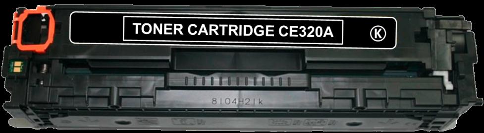 Toner Compatível HP 128A – CE320A Preto  - Leste Cartuchos