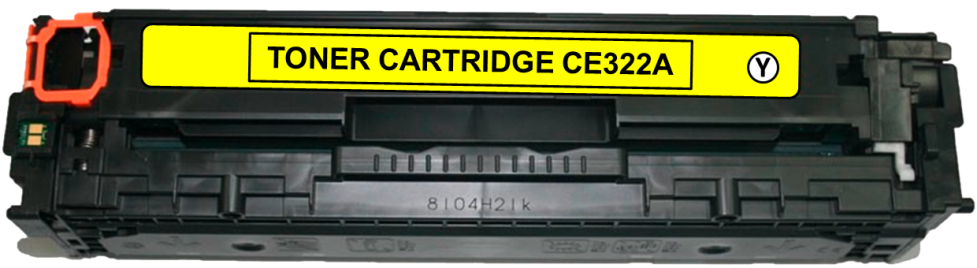 Toner Compatível HP 128A – CE322A Amarelo  - Leste Cartuchos