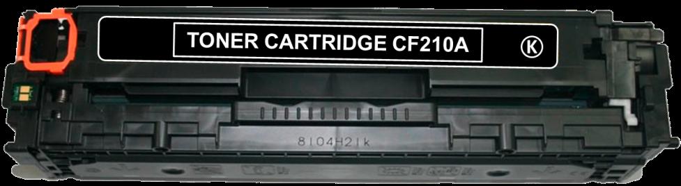 Toner Compatível HP 131A – CF210A Preto  - Leste Cartuchos