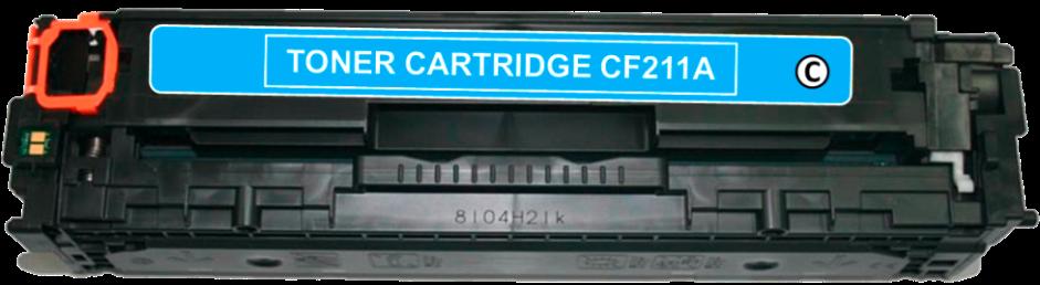 Toner Compatível HP 131A – CF211A Ciano  - Leste Cartuchos