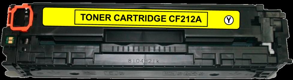 Toner Compatível HP 131A – CF212A Amarelo  - Leste Cartuchos