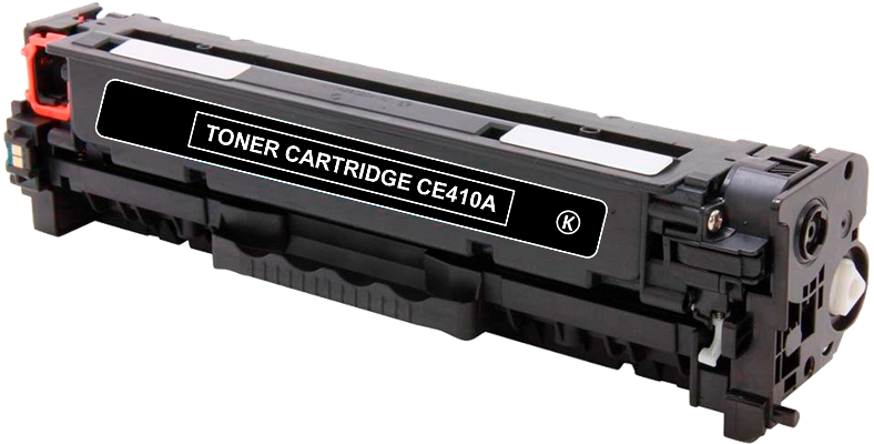 Toner Compatível HP 305A – CE410A Preto  - Leste Cartuchos